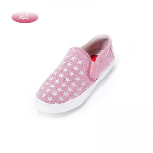 Little Dancing with Stars embroidered Slip-on Sneaker