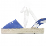 Happy pineapple neptune lace-up suede espadrilles